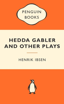 Front cover of penguin books Hedd Gabler